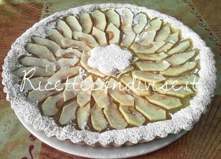 Ricetta Crostata con crema di mele di Teresa Mastandrea