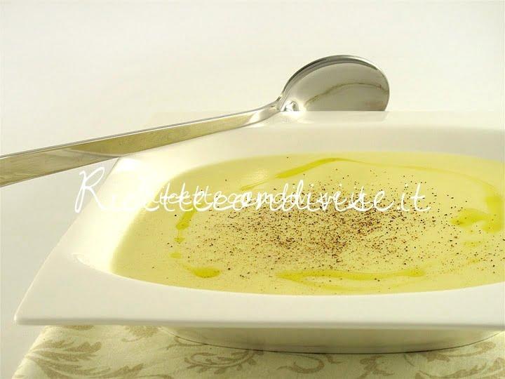 Primo piano crema di patate di Manlio Midori