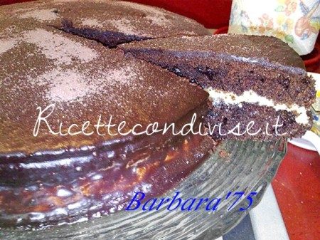 Ricetta Torta cioccolatosa con crema di burro al caffè di Barbara Casini