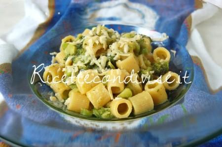 Primo-Piano-Mezzi-Rigatoni-con-broccoli-crema-di-zucca-cinese-allo-zafferano-e-scaglie-di-Cheddar-di-Dany-Ideericette-450x298