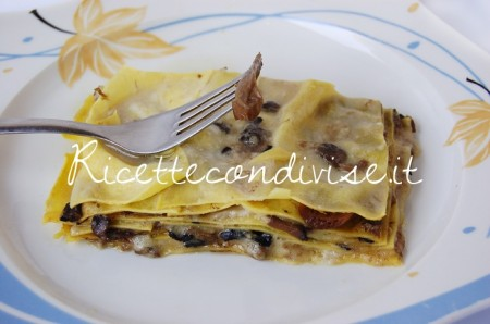 Ricetta Lasagne bianche ai funghi porcini di Dany – Ideericette