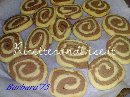 Ricette girelle di biscotto di Barbara Casini