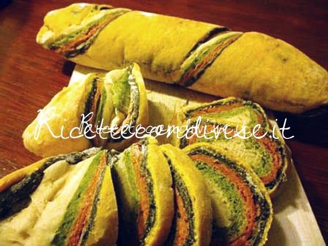 Primo piano pane arcobaleno di Susi