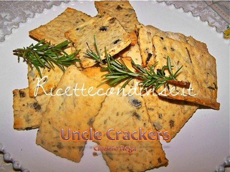 Ricetta Uncle Crackers di Claudio Rega