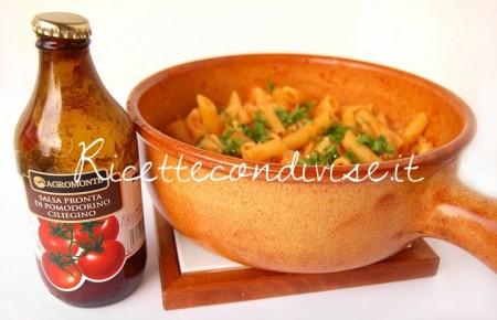 Pasta-e-cavolfiore-con-salsa-pronta-di-ciliegino-di-Dany-Ideericette-450x290