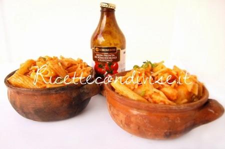 Primo-piano-Pasta-e-cavolfiore-con-salsa-pronta-di-ciliegino-di-Dany-Ideericette-450x298