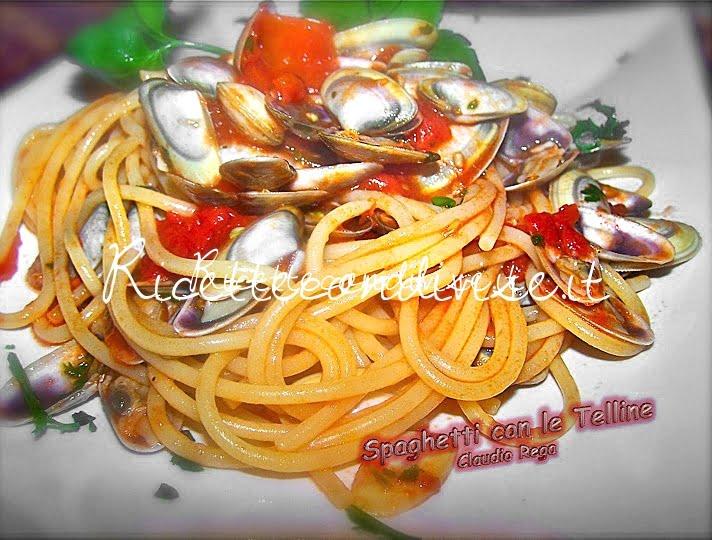 Spaghetti con le telline di Claudio Rega