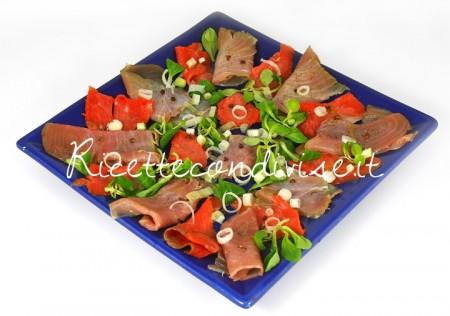 Antipasto-di-tonno-e-salmone-affumicati-e-marinati-di-Dany-Ideericette-450x316