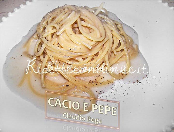 Cacio e pepe di Claudio Rega