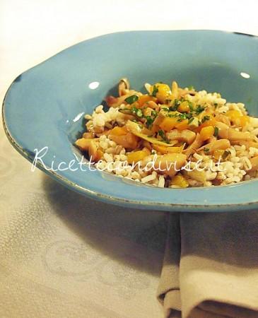Insalata-di-cereali-con-seppie-carciofi-e-peperone-di-Marco-di-Una-cucina-per-Chiama-365x450
