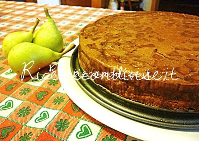 Cheesecake Philadelphia Milka e pere di Susi