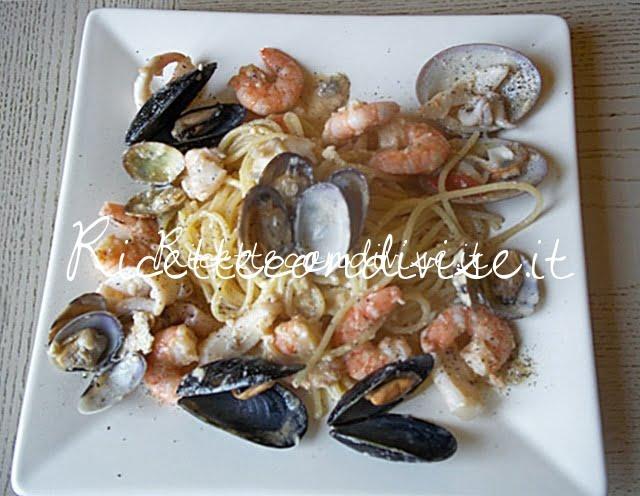 Spaghetti alla carbonara di mare di Diomede917