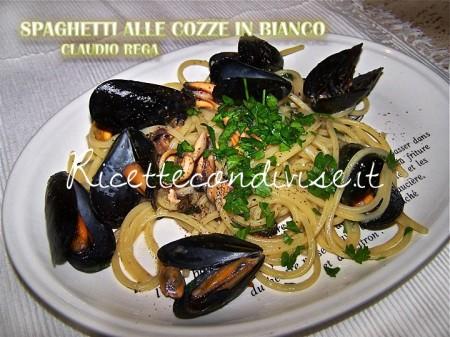 Ricetta Spaghetti alle cozze in bianco di Claudio Rega