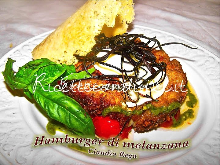 Hamburger vegetariano di melanzana di Claudio Rega
