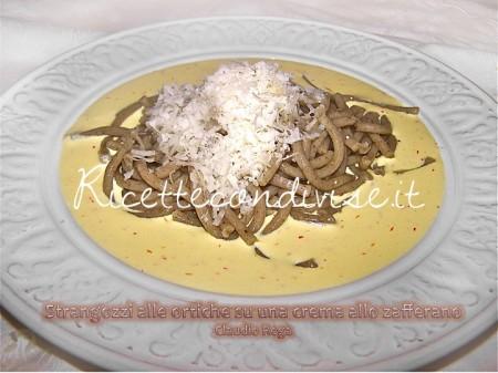Ricetta Strangozzi all'ortica con crema allo zafferano di Claudio Rega