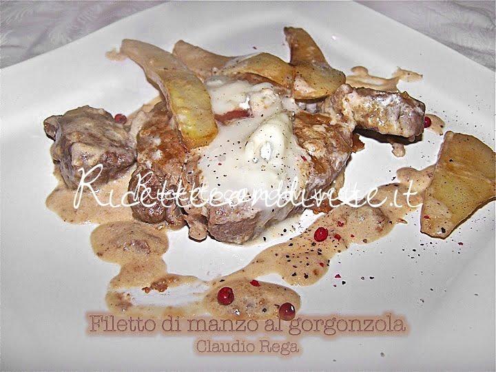 Filetto di manzo con pere e gorgonzola di Claudio Rega