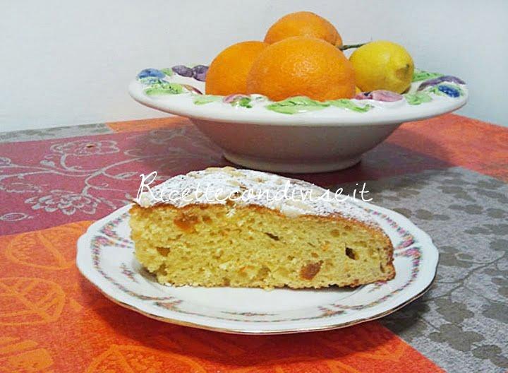 """torta alla ricotta con """"sensazioni"""" di arancia di manila vannucci"""
