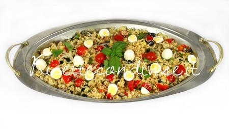 Cous cous con verdure e uova di quaglia di Dany - Ideericette