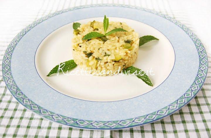 ricetta risotto con zucchine e menta di dany – ideericette
