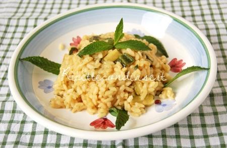 Risotto-zucchine-e-menta-di-Dany-Ideericette-450x293
