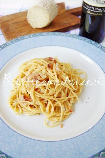 Spaghetti alla gricia con crutin Occelli di Dany - Ideericette