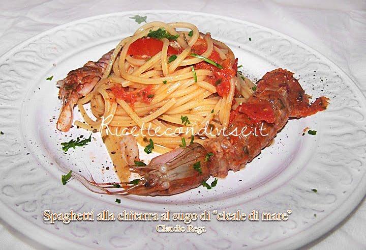 Spaghetti alle cicale (panocchie) di Claudio Rega