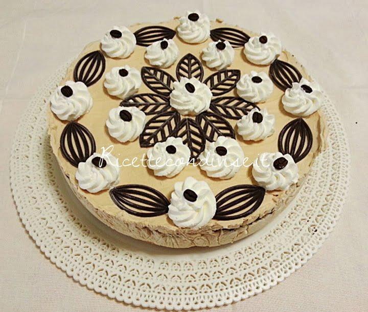 ricetta torta gelato al caffè di teresa mastandrea