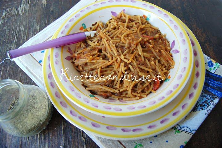 ricetta pasta e lenticchie di dany – ideericette