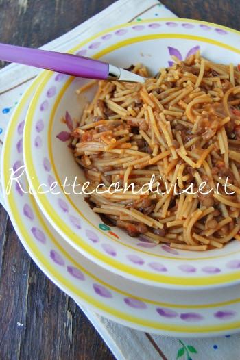 Pasta e lenticchie di Dany - Ideericette
