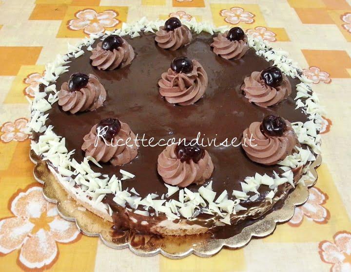 Cheesecake alla stracciatella di Teresa Mastandrea