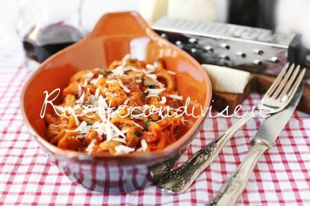Particolare trippa ai funghi porcini e formaggio al tartufo di Acqualagna di Dany - Ideericette