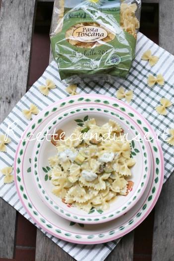 Farfalle con zucchine e verzin di vacca di Dany - Ideericette