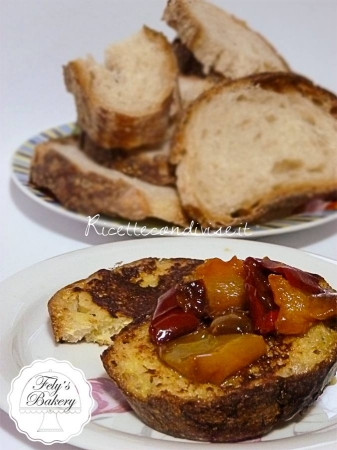 Bruschette morbide con peperoni