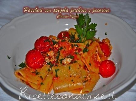 Paccheri-spigola-pachino-e-pecorino-450x337