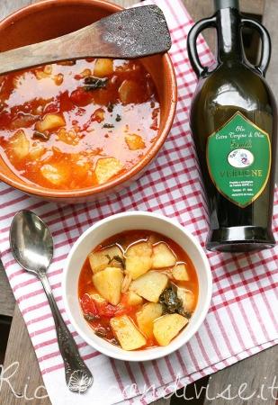 Ricetta Zuppa di patate di Giovanna