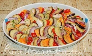 Tian di verdure da cuocere