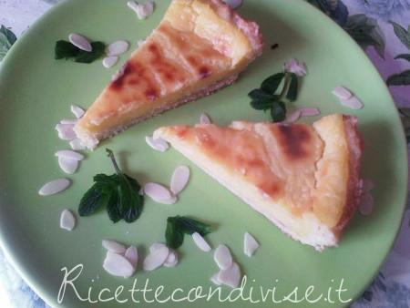 Crostata con crema al limone senza latte di Angela Vic