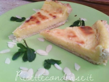 Crostata con crema di limone senza latte di Angela Vic