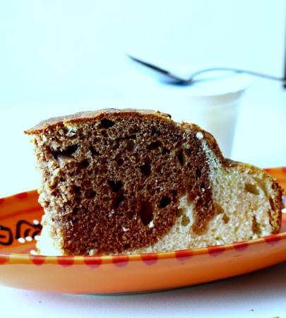ricetta torta allo yogurt variegata