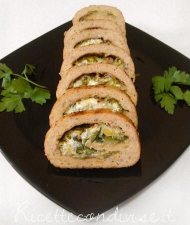 Polpettone-con-zucchine-formaggio-e-pistacchi-di-Roberta-Vivenzi-381x450