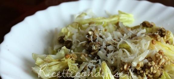 insalata grana e noci