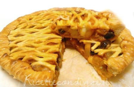 Torta-salata-di-verdure-a-fette-di-Roberta-Vivenzi-450x295
