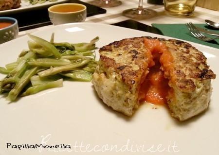 Hamburger di pollo con sorpresa di PapillaMonella