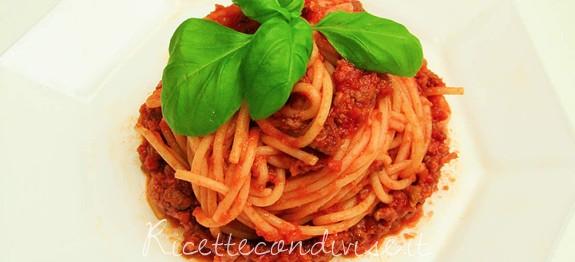 Spaghetti al ragu alla Bolognese