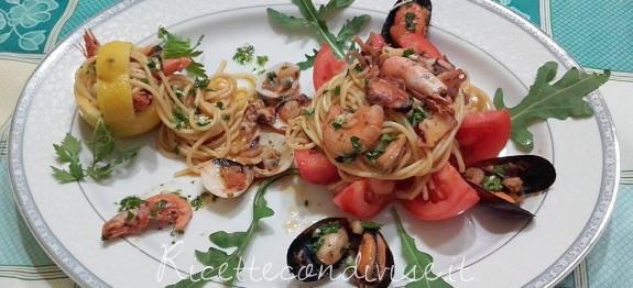 Spaghetti allo scoglio di Franco Graziano