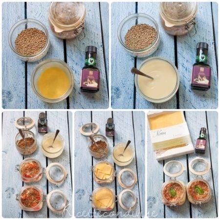 Collage-preparazione-lasagne-con-lenticchie-pomodorini-e-besciamella-all'acqua-450x450