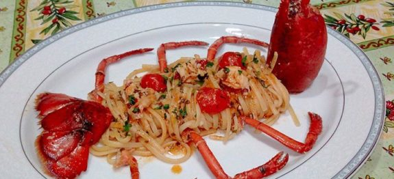 Linguine all'astice di Franco Graziano