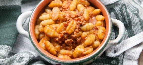 Gnocchi-di-patate-con-philips-pasta-maker-al-ragu