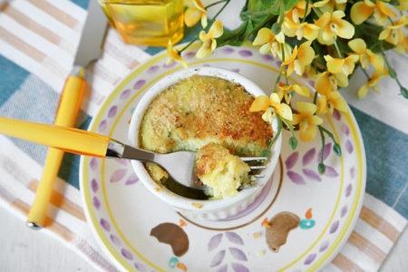 Tortini patate e zucchine allo zafferano (Festa della Donna)